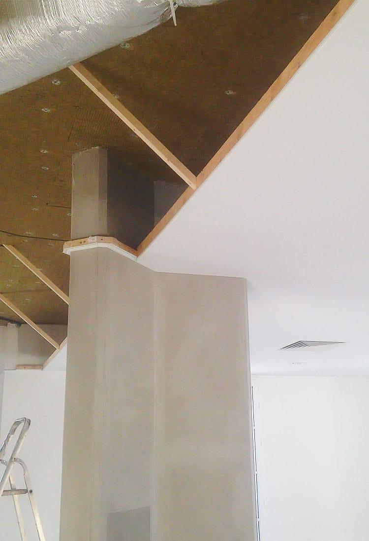 Pose plafond tendu.